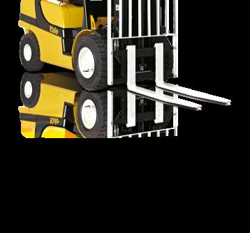 Carrelli frontali con motori diesel